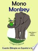 Libro de Aprender Inglés: Inglés Para Niños. Mono   Monkey