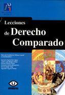 Libro de Lecciones De Derecho Comparado
