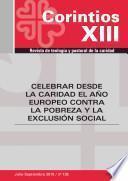 Libro de Celebrar Desde La Caridad El Año Europeo Contra La Pobreza Y La Exclusión Social