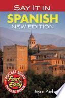 Libro de Say It In Spanish