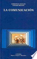 Libro de La Comunicación