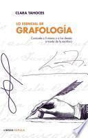 Libro de Lo Esencial De Grafología