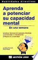 Libro de Aprenda A Potenciar Su Capacidad Mental En Una Semana
