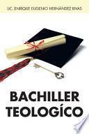 Libro de Bachiller Teologico