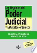 Libro de Ley Orgánica Del Poder Judicial