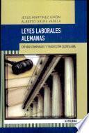Libro de Leyes Laborales Alemanas