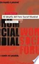 Libro de El Desafío Del Foro Social Mundial