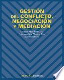 Libro de Gestión Del Conflicto, Negociación Y Mediación