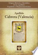 Libro de Apellido Cabrera (valencia)
