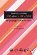 Libro de Morada Y Memoria