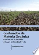 Libro de Contenidos De Materia Orgánica