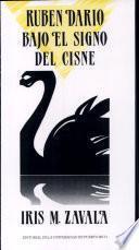 Libro de Rubén Darío Bajo El Signo Del Cisne