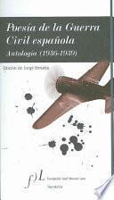 Libro de Poesía De La Guerra Civil Española
