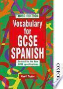 Libro de Vocabulary For Gcse Spanish