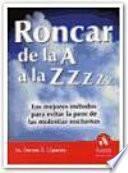 Libro de Roncar De La A A La Zzzz