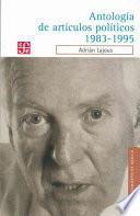 Libro de Antología De Artículos Políticos, 1983 1995
