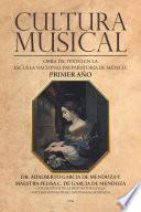 Libro de Cultura Musical