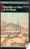 Libro de Deportados A La Tierra De Van Diemen