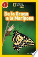 Libro de De La Oruga A La Mariposa