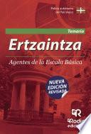 Libro de Ertzaintza. Agentes De La Escala Básica. Temario