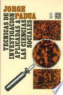 Libro de Técnicas De Investigación Aplicadas A Las Ciencias Sociales