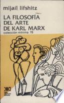 Libro de La Filosofía Del Arte De Karl Marx