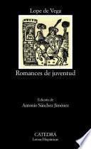 Libro de Romances De Juventud