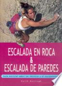 Libro de Escalada En Roca & Escalada De Paredes (color)