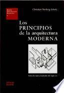 Libro de Los Principios De La Arquitectura Moderna