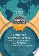 Libro de Informe De La Nutrición Mundial 2015