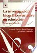 Libro de La Investigación Biográfico Narrativa En Educación