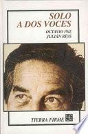 Libro de Solo A Dos Voces