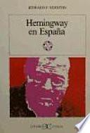 Libro de Hemingway En España