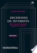 Libro de Decisiones De Inversión