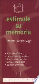 Libro de Estimule Su Memoria