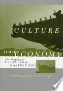 Libro de Culture And Economy