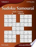 Libro de Sudoku Samurai   De Fácil A Experto   Volumen 1   159 Puzzles