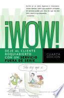 Libro de ¡wow!