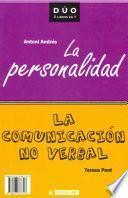 Libro de La Comunicación No Verbal Y La Personalidad