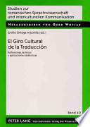 Libro de El Giro Cultural De La Traducción