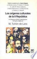 Libro de Los Orígenes Culturales De La Ii República