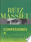 Libro de Confesiones A Manera De Testamento