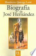 Libro de Biografía De José Hernández