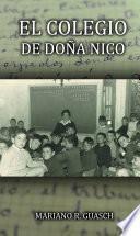 Libro de El Colegio De Doña Nico