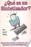 Libro de QuŽ Es Un Sintetizador?