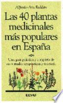 Libro de Las 40 Plantas Medicinales Más Populares