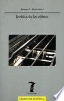 Libro de Estética De Los Objetos