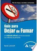 Libro de Guia Para Dejar De Fumar