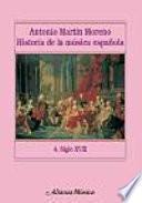 Libro de Historia De La Música Española. 4. Siglo Xviii