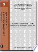 Libro de Sobre Software Libre